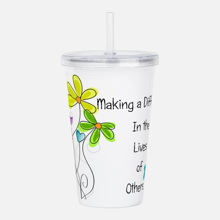 Caregiver Quote Acrylic Double-wall Tumbler