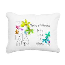 Caregiver Quote Rectangular Canvas Pillow