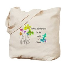 Caregiver Quote Tote Bag