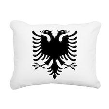 Double Headed Griffin Rectangular Canvas Pillow