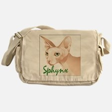 Sphynx Cat Messenger Bag
