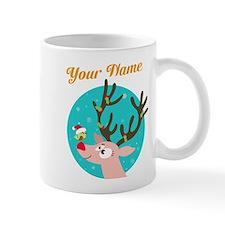 custom christmas add name Mug