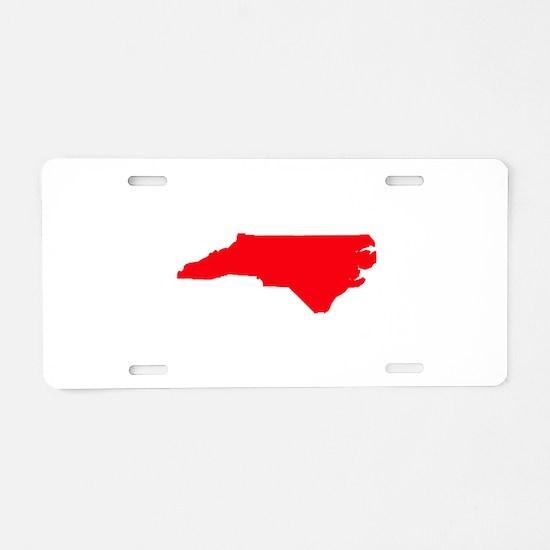 Cute Nc Aluminum License Plate