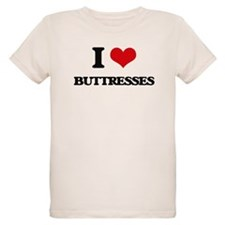 I Love Buttresses T-Shirt