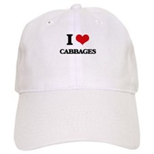I love Cabbages Baseball Cap