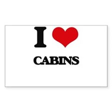 I love Cabins Decal