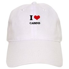 I love Cabins Baseball Cap