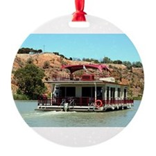 Houseboat on the Murray River, Aust Ornament