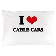 I love Cable Cars Pillow Case