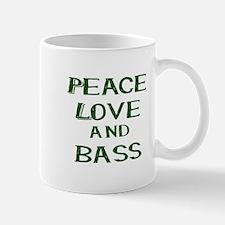 Great bass guitar themed music graphic Mugs