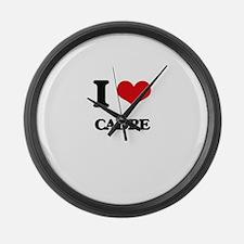 I love Cadre Large Wall Clock