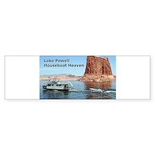 Lake Powell, Arizona, USA: Houseboa Bumper Bumper Sticker