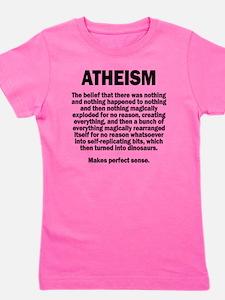 Atheism Girl's Tee