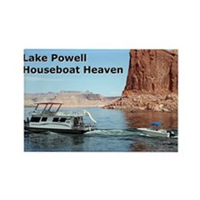 Lake Powell, Arizona, USA: Houseboat Heave Magnets