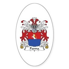 Parma Oval Bumper Stickers