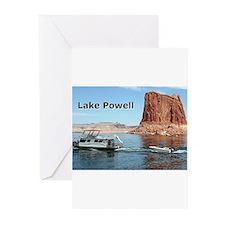 Lake Powell, Arizona, USA (caption) Greeting Cards