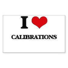 I love Calibrations Decal