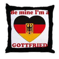 Gottfried, Valentine's Day Throw Pillow