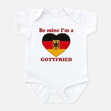 Gottfried, Valentine's Day Infant Bodysuit