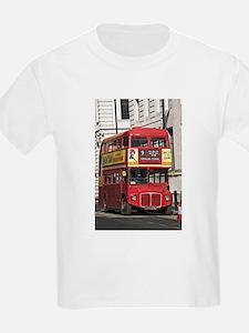 Vintage Red London Bus T-Shirt
