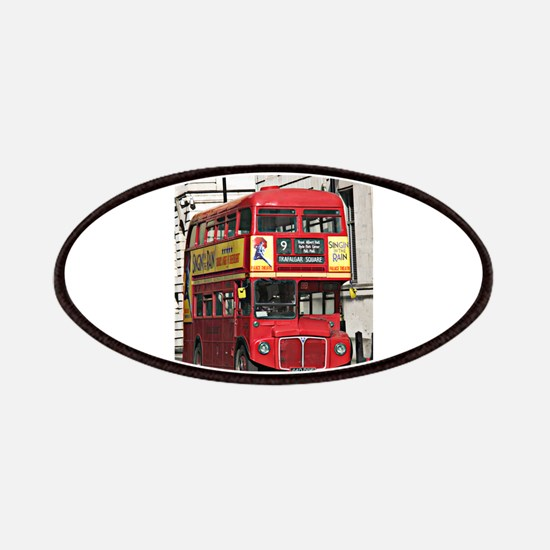 Vintage Red London Bus Patches