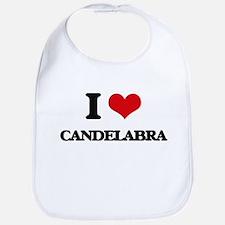 I love Candelabra Bib