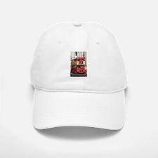 Vintage Red London Bus Baseball Baseball Cap