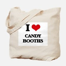 I love Candy Booths Tote Bag