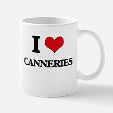 I love Canneries Mugs