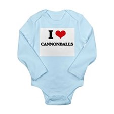 I love Cannonballs Body Suit