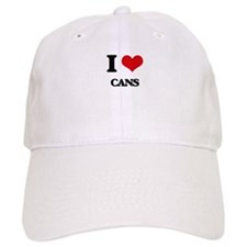 I love Cans Baseball Cap