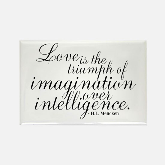Imagination over Intelligence Magnets