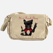 French Bulldog Messenger Bag