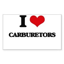 I love Carburetors Decal