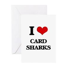 I love Card Sharks Greeting Cards