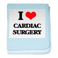 I love Cardiac Surgery baby blanket