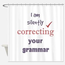 Silently Correcting your Grammar Humor Quote Showe