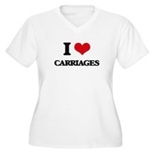 I love Carriages Plus Size T-Shirt