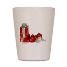 Christmas Shot Glass