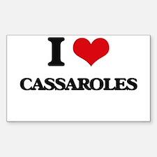 I love Cassaroles Decal