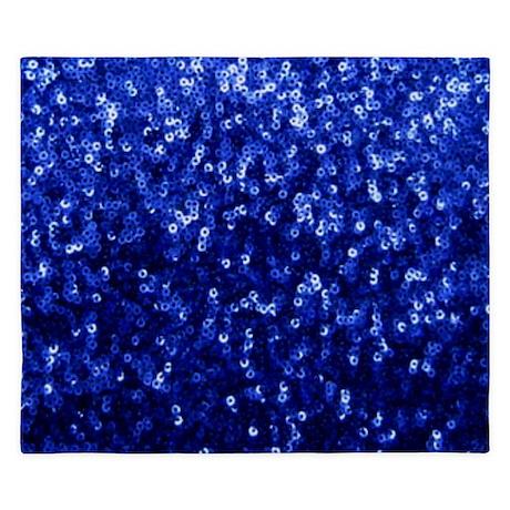 Blue Glitters King Duvet