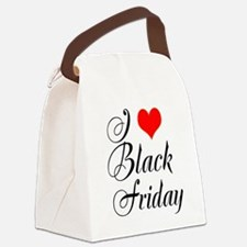 I love Black Friday Canvas Lunch Bag
