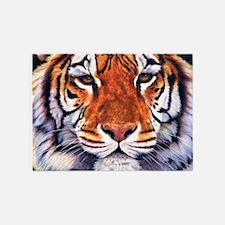 Tiger Sultan of Siberia 5'x7'Area Rug
