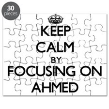 Keep Calm by focusing on on Ahmed Puzzle