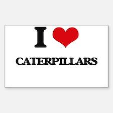 I love Caterpillars Decal
