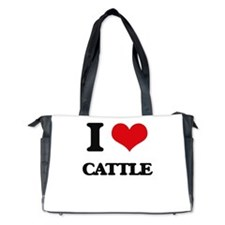 I love Cattle Diaper Bag