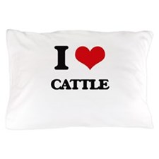 I love Cattle Pillow Case