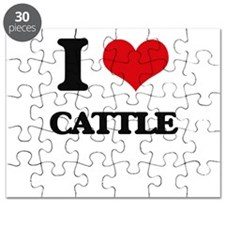 I love Cattle Puzzle
