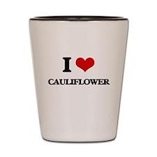 I love Cauliflower Shot Glass