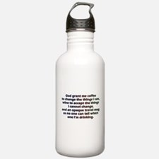 God grant me a travel Water Bottle